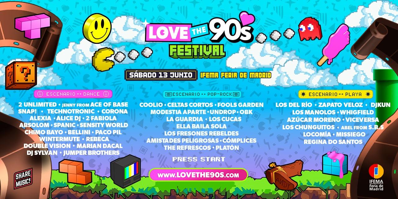 Love-the-90s-Vuelve-a-vivir-un-dia-en-los-90-cartel